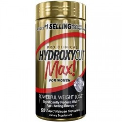 Hydroxycut Max for Womens 60 kapsel